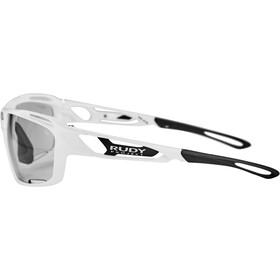 Rudy Project Sintryx Occhiali, white gloss/impactX 2 photochromic black